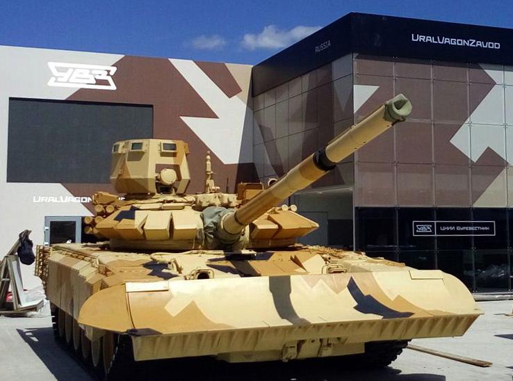 Inspirado na guerra síria Rússia propõe novo tanque para combate urbano