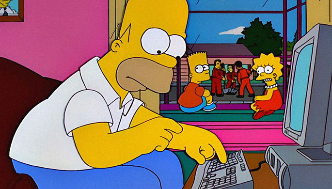 «настоящий Гомер Симпсон» напугал своего создателя