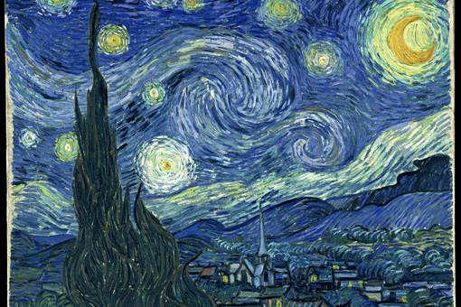 Ван Гог, «Звездная ночь»