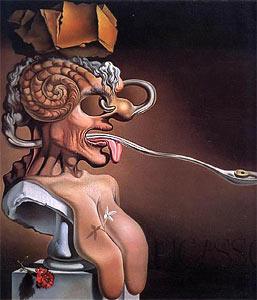 Портрет Пикассо (Сальвадор Дали)