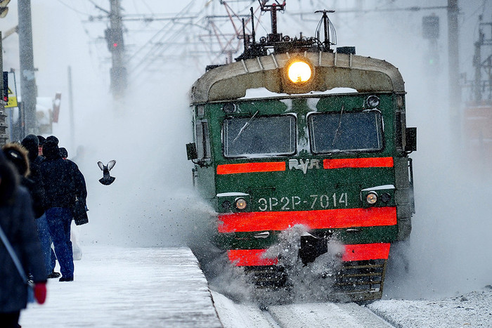 Вдвижении электричек Рижского иКазанского направлений произошел сбой