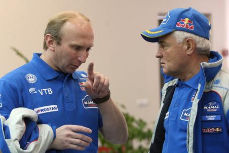 Владимир Чагин и Семен Якубов