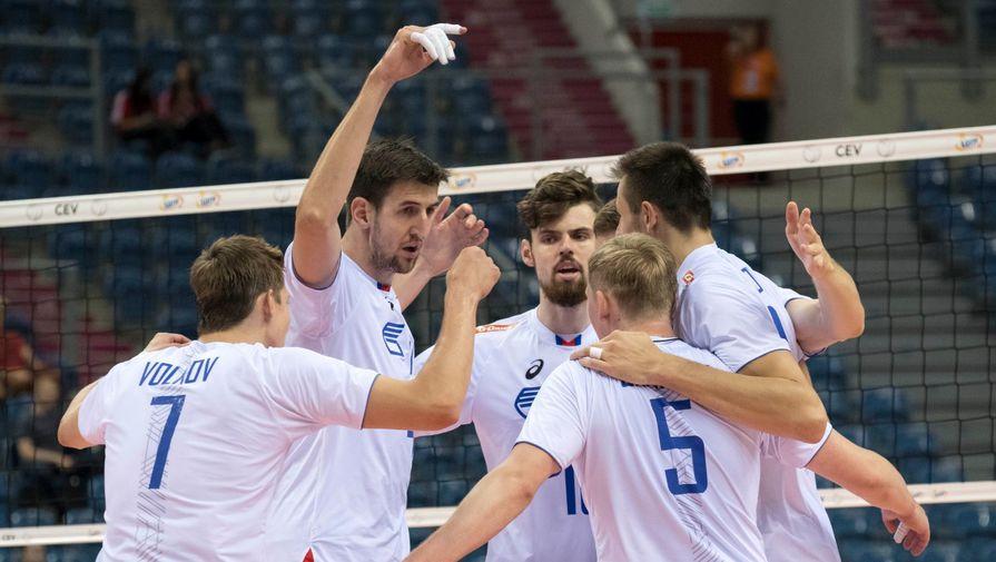 Сборная РФ выиграла 2-й матч наЧЕ вПольше
