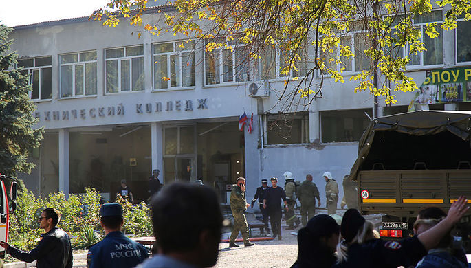 Родственники опознали всех погибших при нападении наколледж вКерчи