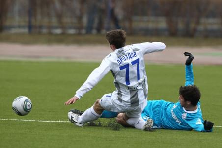 «Зенит» сыграл вничью с ЦСКА в матче молодежного первенства России