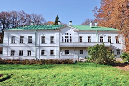 Дом Льва Толстого в Ясной Поляне. Современный вид