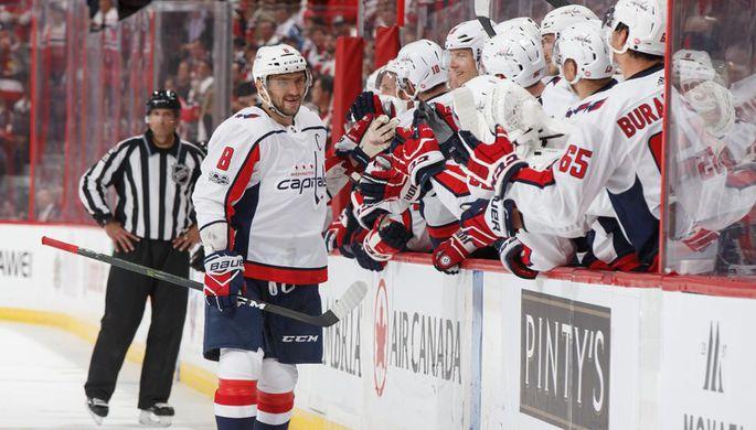 Овечкин вышел на9-е место почислу победных голов вистории НХЛ