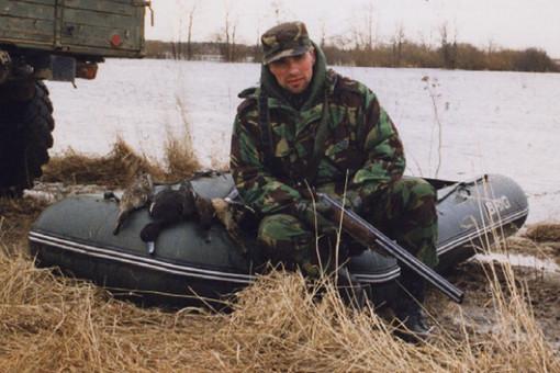 Бывший киллер Алексей Шерстобитов на охоте