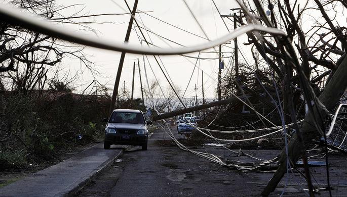 ВоФранции 200 тыс. домов остались без электричества из-за урагана