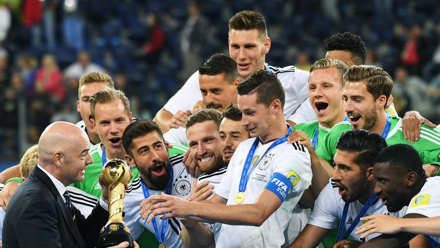 Сборная Германии объявила стартовый состав нафинал Кубка конфедераций сЧили