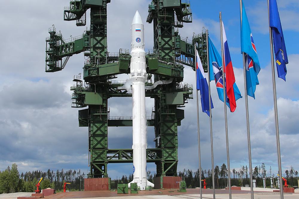 Фотография ракеты