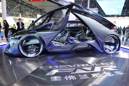 Концепт Chevrolet FNR