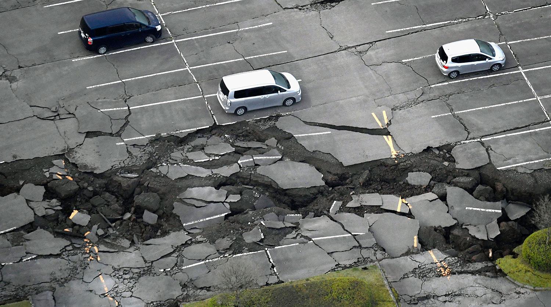 На востоке Японии произошло землетрясение магнитудой 48