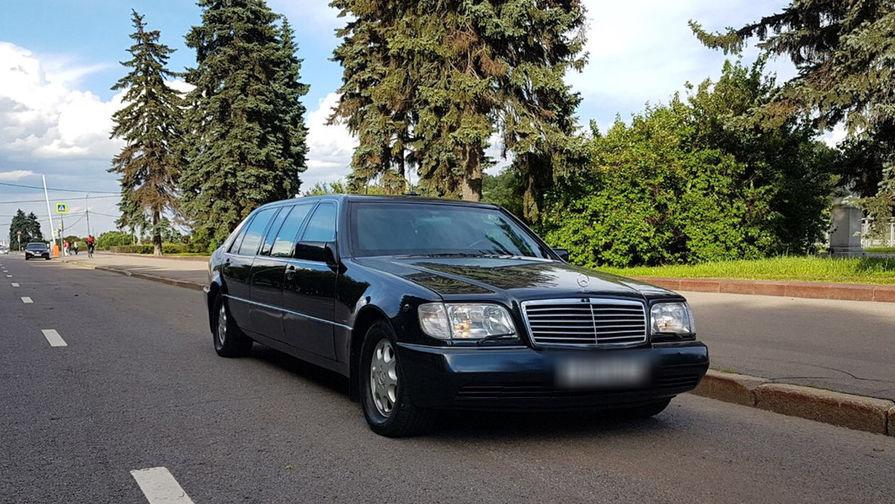 В российской столице решили реализовать лимузин Бориса Ельцина за33 млн руб.
