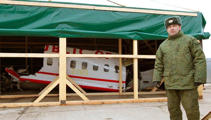 Смоленская трагедия : РФприменяет чрезвычайные меры для защиты фрагментов  самолета