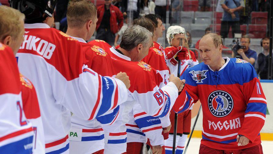Путин поведет команду «Звезд Ночной лиги» вгала-матче турнира
