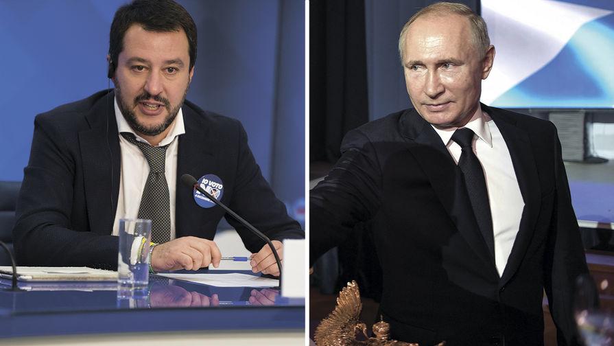 Руководитель  МВД Италии назвал В.Путина  великим президентом