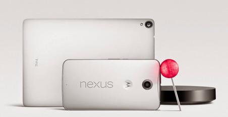 Android Lollipop, Nexus 6 � Nexus 9: ������� � �������� Google