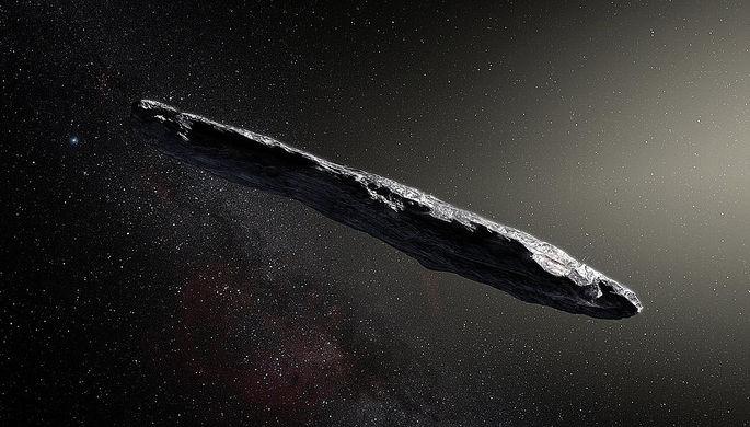 Ученые узнали, изчего состоит залетевший вСолнечную систему астероид