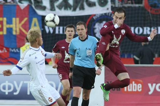 Полузащитник Бибрас Натхо рассчитывает на то, что «Рубин» поборется за бронзу чемпионата