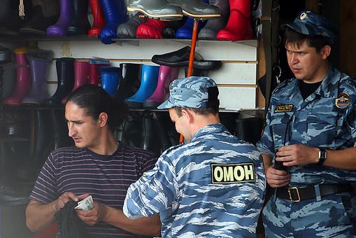 Полицейские зачистили рынок «Садовод»
