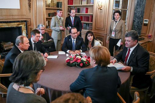 Путин договорился с Порошенко