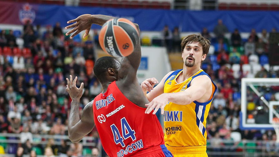 Баскетбольный клуб «Химки» проведет матч серии плей-офф сегодня вМытищах