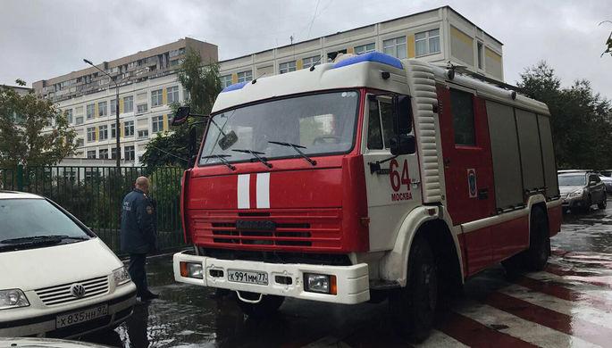 Изторгового центра в российской столице эвакуировали людей из-за короткого замыкания
