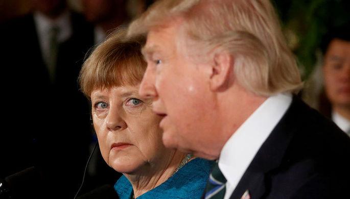 Трамп сдал назад после слов озависимости Германии от Российской Федерации