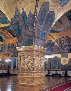 Грановитая палата в Кремле, где проходило заседание Уложенной комиссии