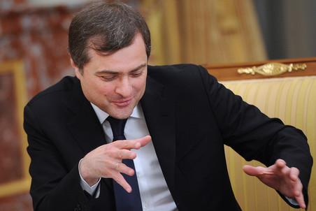 Владислав Сурков на заседании правительства РФ