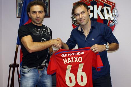 Бибрас Натхо получил в ЦСКА две шестерки