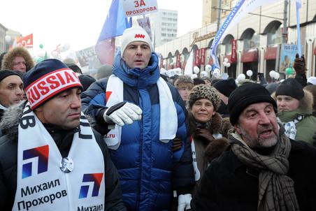 Прохоров собирается создавать партию по «американскому» принципу