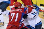 Сборная России проиграла финнам на чемпионате мира по хоккею