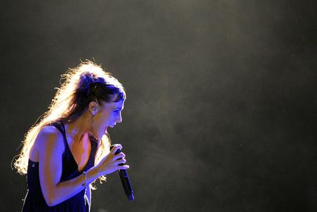 Французская певица ZAZ выступила в московском «Крокус Сити Холле»