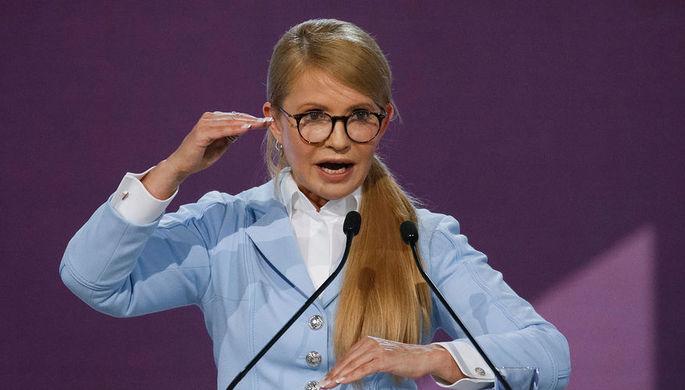 Тимошенко обвинила Порошенко в«криминальном терроре» против ее приверженцев