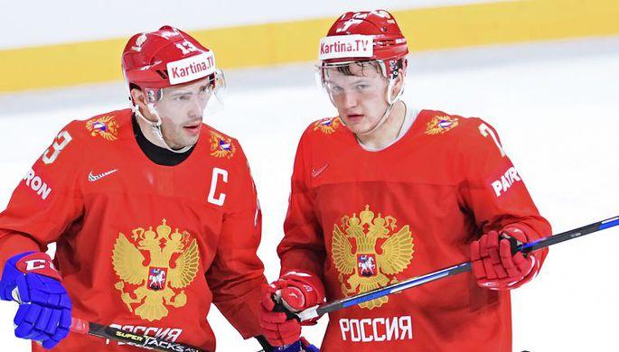 Андронов иХафизуллин приняли участие вутренней раскатке сборной РФ