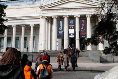 Интревью с замдиректора ГМИИ Андреем Толстым о программе столетнего юбилея музея