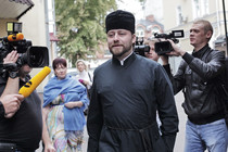Priest who caused car accident in Moscow gets driver's license suspended