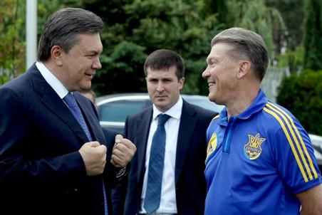 Олег Блохин заручился поддержкой руководства Украины в лице Виктора Януковича