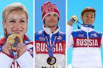 Три бывших иностранца выиграли для сборной России семь золотых наград