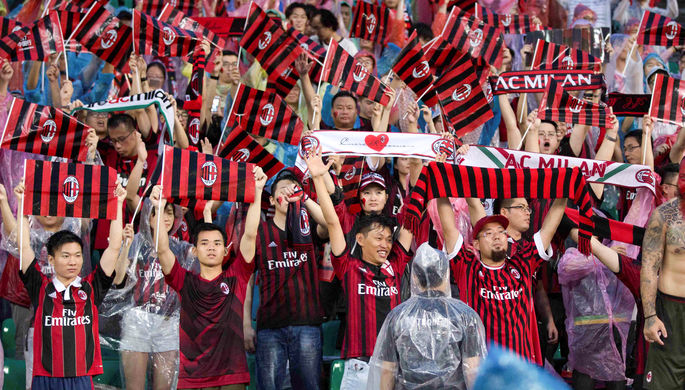 «Лацио» разгромил «Милан» вдождливом Риме