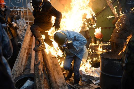 Антитеррористическая зачистка Майдана, анонсированная украинской властью, так и не состоялась