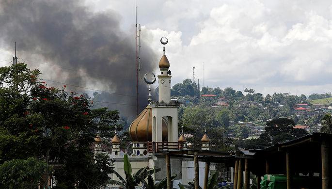 Министр обороны Филиппин объявил озавершении операции вМарави