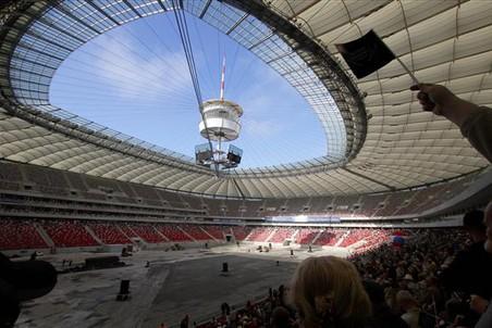 Матч за Суперкубок Польши на Национальном стадионе в Варшаве не состоится