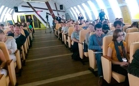 Cъезд движения «Родина» в музее «Бункер 42 на Таганке». Фотография: «Газета.Ru»