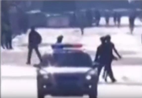 Момент задержания Ринаса попал на видео. Источник: Silius Soddus