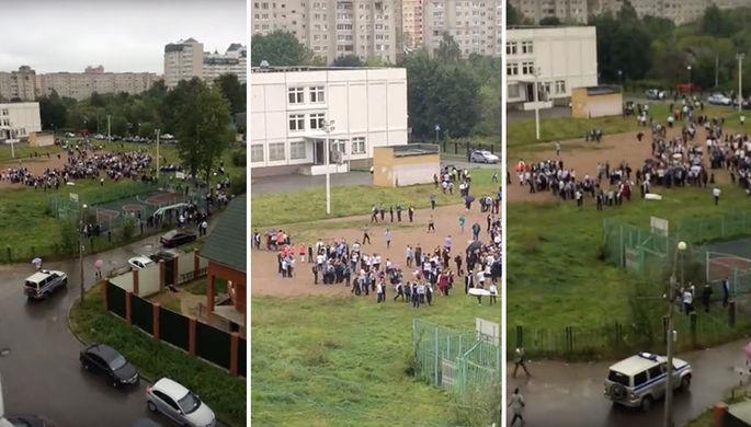 «Дети прыгали изокон»: после стрельбы вподмосковной школе возбуждено уголовное дело