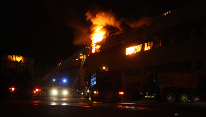 ВСтаврополе напожаре в личном доме погибли 4 человека