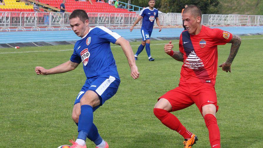 Тамбовские футболисты навыезде уступили «Балтике»